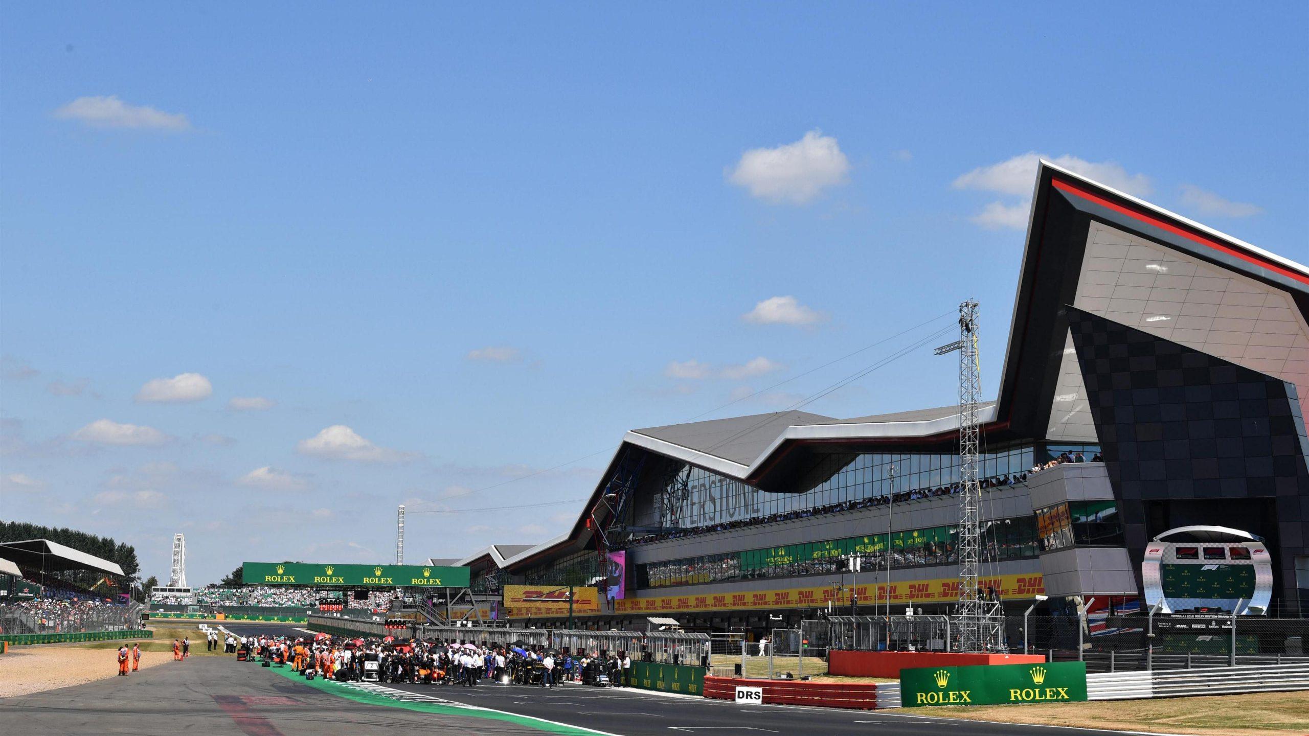 Grid at Formula One World Championship, Rd10, British Grand Prix, Race, Silverstone, England, Sunday 8 July 2018.